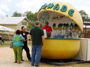 Lemonade stand concessionaire