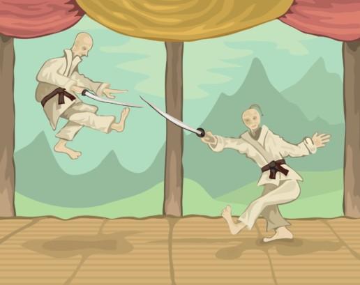Samurai Martial Arts Humor